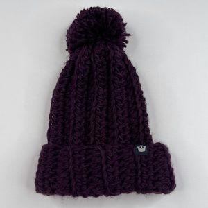 Goorin Bros Hat Purple Knit Soft Winter NWOT